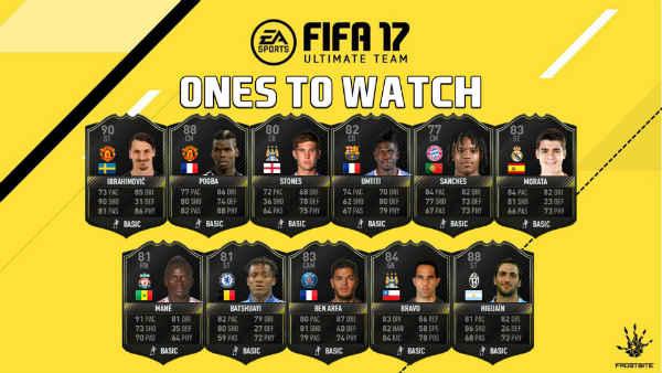 FIFA 17 OTW de verano