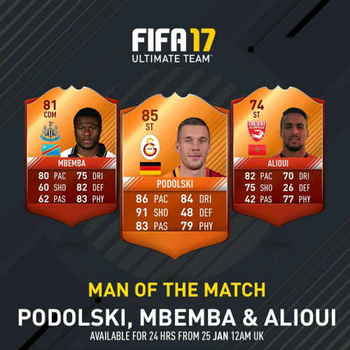 MOTM FIFA 17 podolski