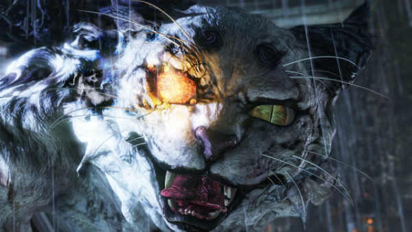 Tigre Blanco en Nioh